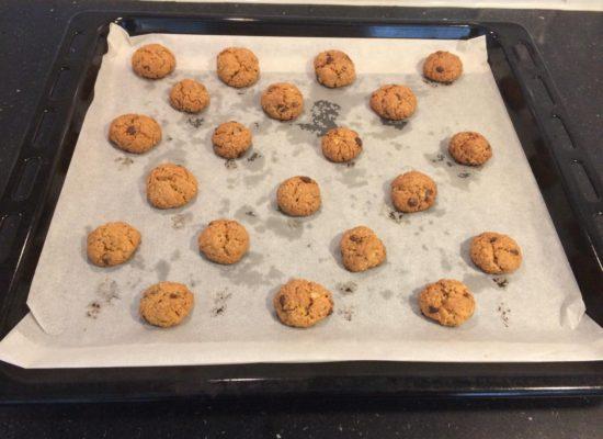 Bak de cookies in 15 minuten gaar.