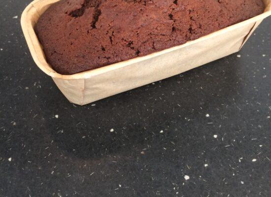 Bak de cake af in 55-60 min. op 160°C.