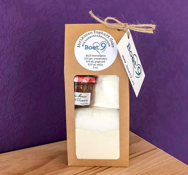 bakmix abrikozen yoghurt taart