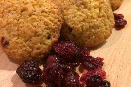 Cranberry cookie zelf bakken